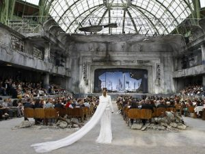 The Chanel haute couture show in Paris