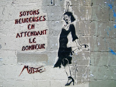 Miss Tic Graffiti Paris