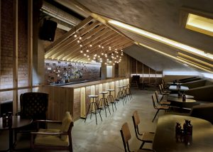 Bar design by Inblum Architects