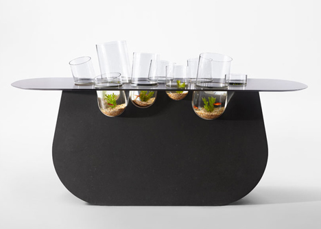 table quartz aquarium